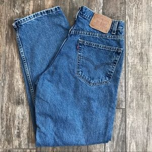 Vintage Levi's 550 relaxed fit jeans W 34 x L 30